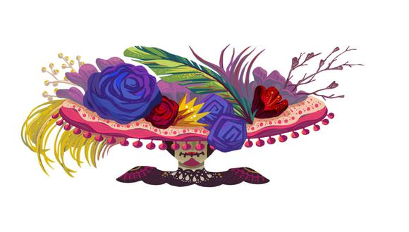 La celebración mexicana es más alegre que terrorífica. (Foto: Captura)
