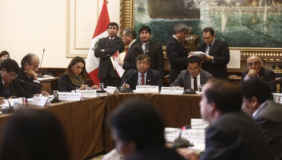 Alberto Oliva anunció que texto sustitutorio de reforma del CNM se evaluará este lunes. (Foto: USI)