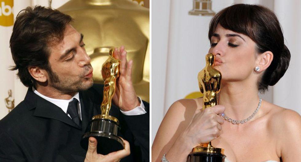 Javier Bardem revela la peculiar manera en que utiliza con Penélope Cruz sus premios Oscar (Foto: AFP)