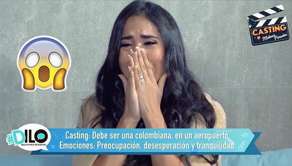 Melissa Paredes pasó los juegos de #Dilo: Casting en Vivo y el famoso Ping Pong. (Foto: El Comercio)