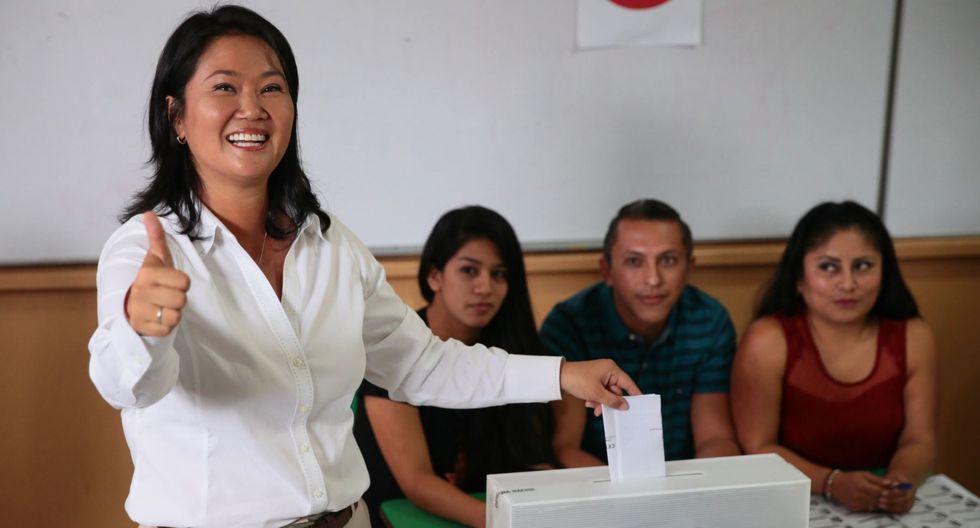 Si Keiko Fujimori retomará las riendas del partido para la campaña electoral, es aún una incógnita. O al menos eso aseguran algunos de los candidatos por Fuerza Popular. [Foto archivo El Comercio]