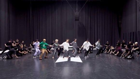 El video Dance Practice de ON se encuentra en el puesto #2 en tendencias (Foto: Captura de video YouTube)