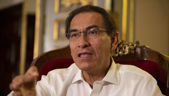 Martín Vizcarra señaló que el Ministerio de Justicia representa la posición del gobierno en temas legales. (Foto: GEC)