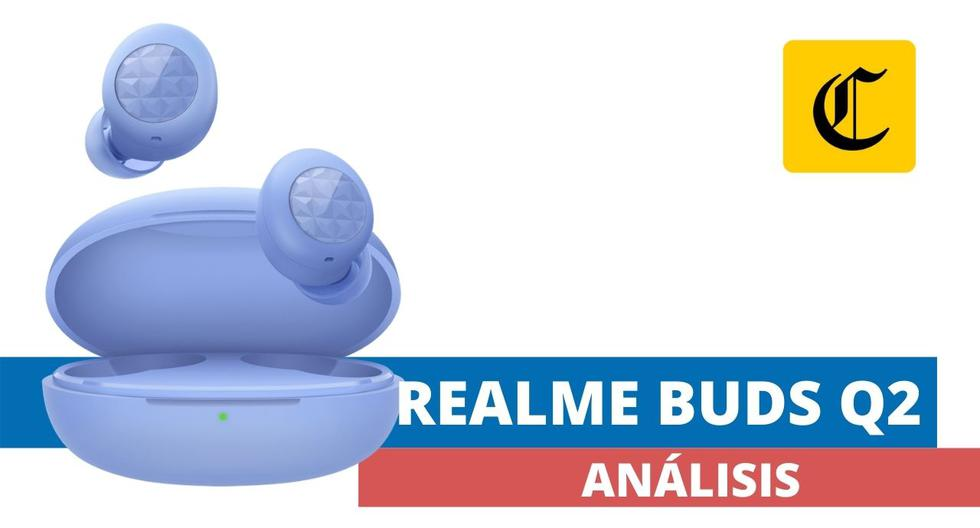 Los audífonos inalámbricos Realme Buds Q2 ofrecen un gran desempeño por un precio muy atractivo. (El Comercio)