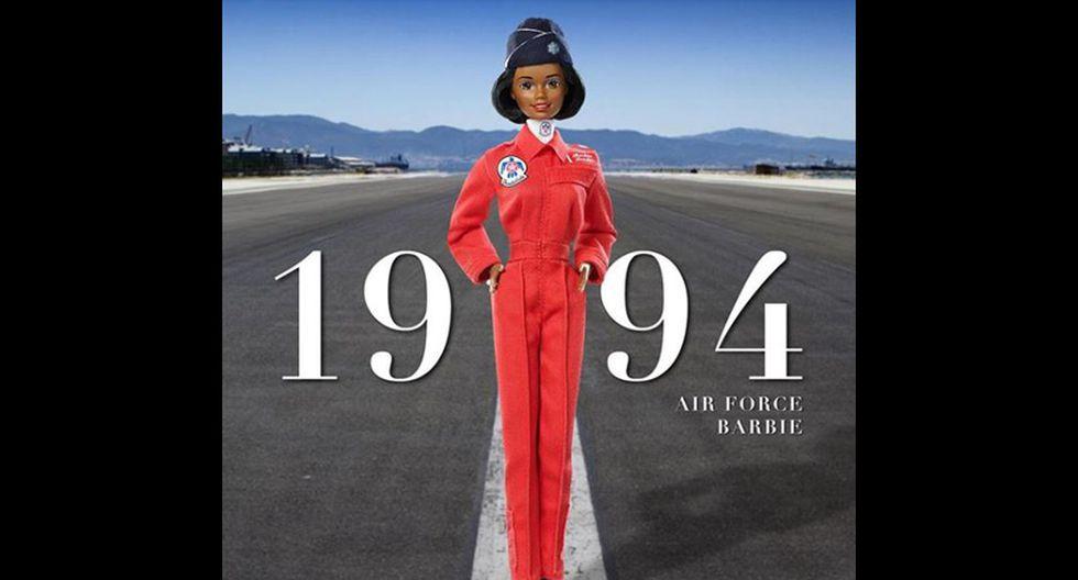En el 94, se creó la Barbie perteneciente a la Fuerza Aérea. (Fotos: Instagram/ @barbie)