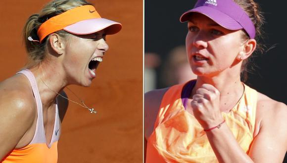 Maria Sharapova y Simona Halep jugarán final de Roland Garros