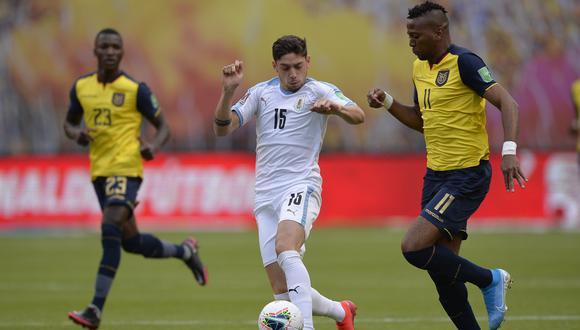 Federico Valverde será baja en Uruguay para el duelo ante Colombia y Brasil por las Eliminatorias | Foto: AP