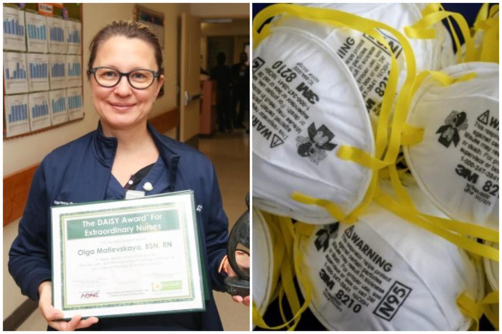 Coronavirus en USA: enfermera compra mascarillas para sus colegas, pero hospital la suspende por esta razón. (Foto: Twitter)