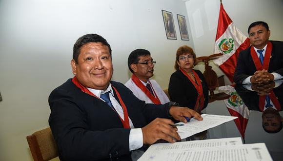 El magistrado Luis Jara cayó en la madrugada del 18 de febrero. (PNP)
