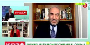 Salud: Dr Huerta explica lo que debería pasar para iniciar la distribución del nuevo antiviral ruso