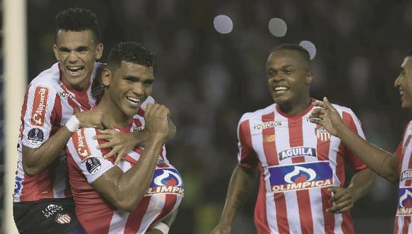 Defensa y Justicia derrotó 3-1 a Junior por la vuelta de cuartos de final en el Estadio Libertadores de América. Sin embargo, el 2-0 en contra en la ida les impidió avanzar a las semifinales de la Copa Sudamericana (Foto: agencias)
