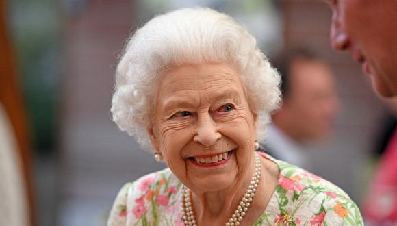 Isabel II del Reino Unido. (Foto: AFP)