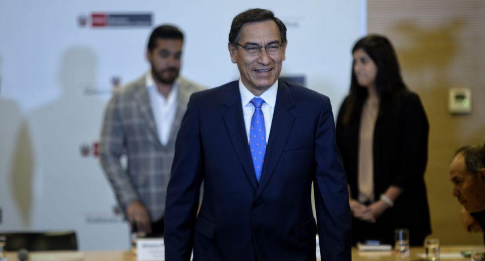 El presidente Vizcarra habló sobre las reformas en una actividad que tuvo ayer con otros funcionarios. (Foto: GEC)
