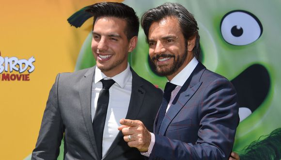 Vadhir Derbez, hijo del cómico mexicano Eugenio Derbez, en Hollywood. (Foto: AFP).