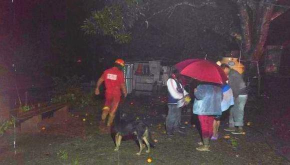 Cusco: huaico mata a 4 miembros de una familia en Quillabamba
