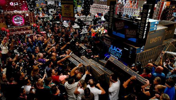 Hoy se viene llevando a cabo el Black Friday. Imagen referencial. (Foto: AFP)
