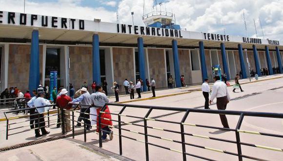 Brecha en inversión aeroportuaria supera los US$ 2.300 mlls.