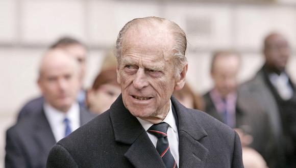 El príncipe Felipe. Fotografía del 2007. AFP