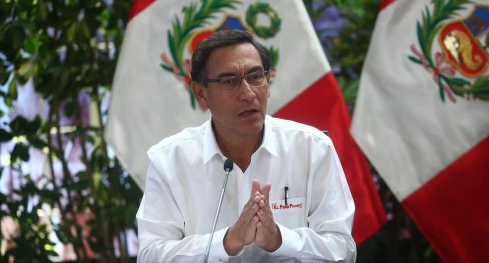 El presidente Martín Vizcarra confirmó que se extenderá el estado de emergencia contra el coronavirus por dos semanas más. (Foto: Difusión)