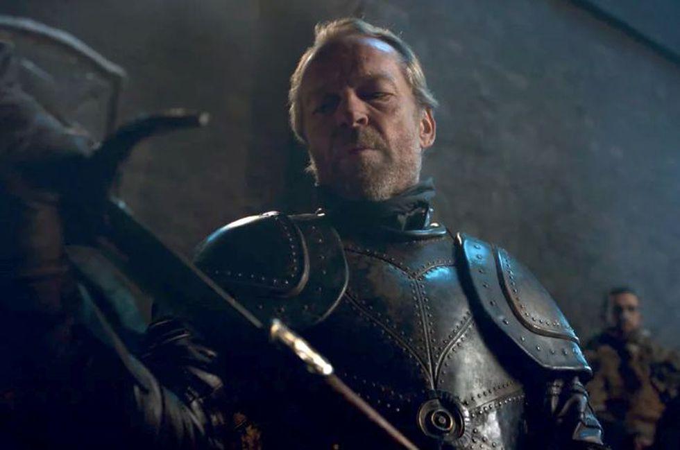 Sam decide darle su espada de aceri valyria a Jorah Mormont para que luche contra los White Walker. (Foto: HBO)