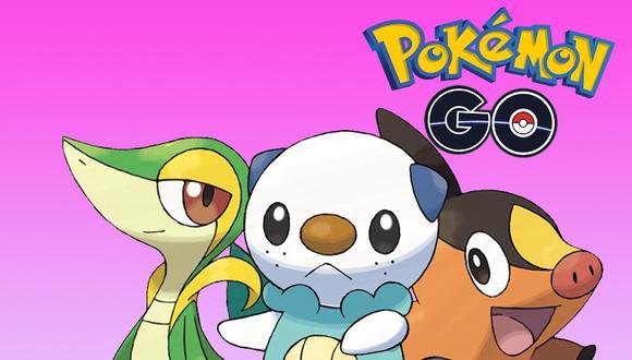 Estos son todos los Pokémon de la región Unova que llegarán el 16 de septiembre a Pokémon. (Foto: Nintendo)