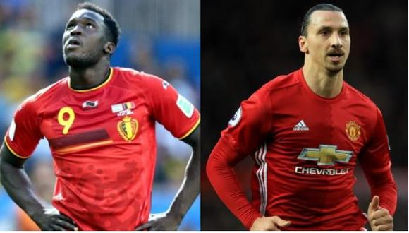 Romelu Lukako aseguró que le pidió permiso al sueco Zlatan Ibrahimović para usar la dorsal '9' del Manchester United. (Foto: Agencias)