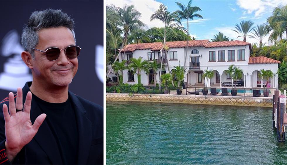 La casa de Sanz originalmente llegó al mercado en 2014, con un precio inicial de $ 18 millones. Ahora está de vuelta por $ 14.9 millones. (Foto: Realtor)