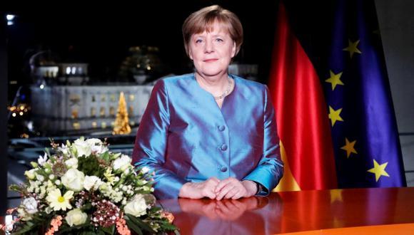 """Merkel: """"Muchos relacionan 2016 con un mundo desarticulado"""""""