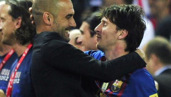 Guardiola y Messi lo ganaron todo en el Barcelona, entre el 2008 y 2012. (Foto: AFP)