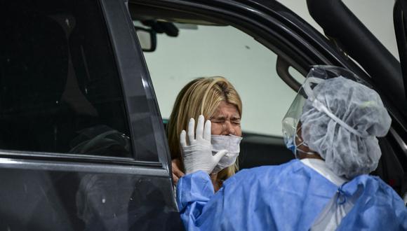 Coronavirus en Argentina   Últimas noticias   Último minuto: reporte de infectados y muertos hoy, miércoles 14 de abril del 2021  Covid-19   (Foto: RONALDO SCHEMIDT / AFP).