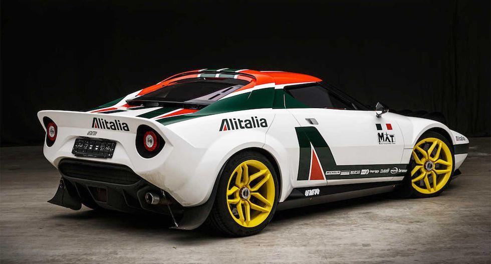 La primera versión del New Stratos equipa un motor V8 de 4.3 litros que desarrolla 540 HP. (Fotos: Manifattura Automobili Torino).