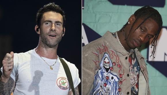 Maroon 5 y Travis Scott serán parte del entretiempo del Super Bowl. (Foto: Agencias)