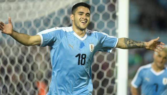Uruguay vs. Panamá: mejores imágenes del partido. (Foto: AFP)