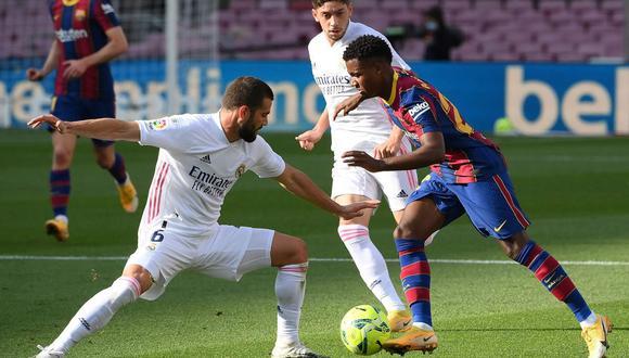 AQUÍ SKY Sports EN VIVO: Barcelona vs. Real Madrid por LaLiga Santander en Clásico de España
