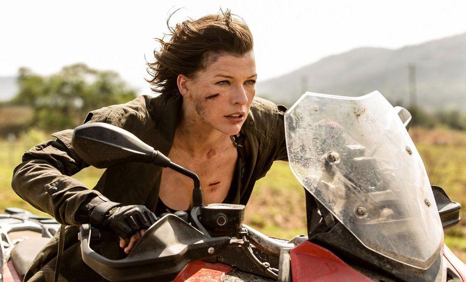 Olivia Jackson sufrió un accidente durante una escena de motocicleta. (Foto: Sony Pictures)