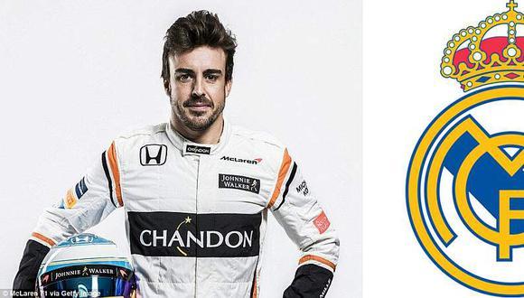Real Madrid hizo socio vitalicio a Fernando Alonso.