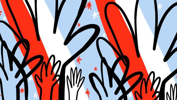 """""""Muy por el contrario, la democracia necesita ser alimentada"""". (Ilustración: Giovanni Tazza)"""