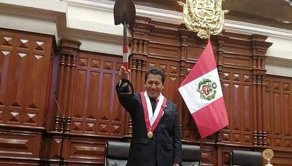 Acción Popular rechaza declaraciones de congresista Orlando Arapa. Vocero alterno dijo que no acude a reuniones de bancada. (Foto: Congreso)