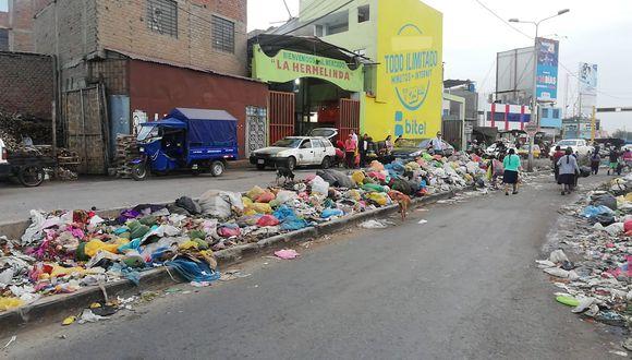 Trujillo: alcalde advierte nuevamente que mercado La Hermelinda podría ser cerrado