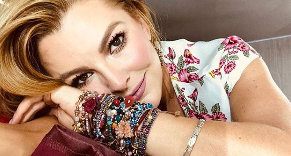 Marjorie de Sousa se hizo conocida mundialmente luego de protagonizar la telenovela Rebeca de 2003 (Foto: Instagram)