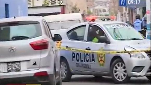 Las calles del Callao se volvieron a teñir de sangre tras el asesinato de un integrante de la Marina de Guerra en la urbanización Albino Herrera | Captura Canal N