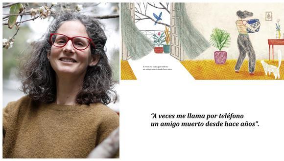 """Micaela Chirif escribe un poema sobre el vacío dejado tras la partida de José Watanabe. Juan Palomino dialoga con dibujos inspirados en la ausencia de un amor. En suma, """"Una canción que no conozco"""" es un libro sobre la aflicción y el consuelo por los ausentes.  (Ilustración: Juan Palomino)"""