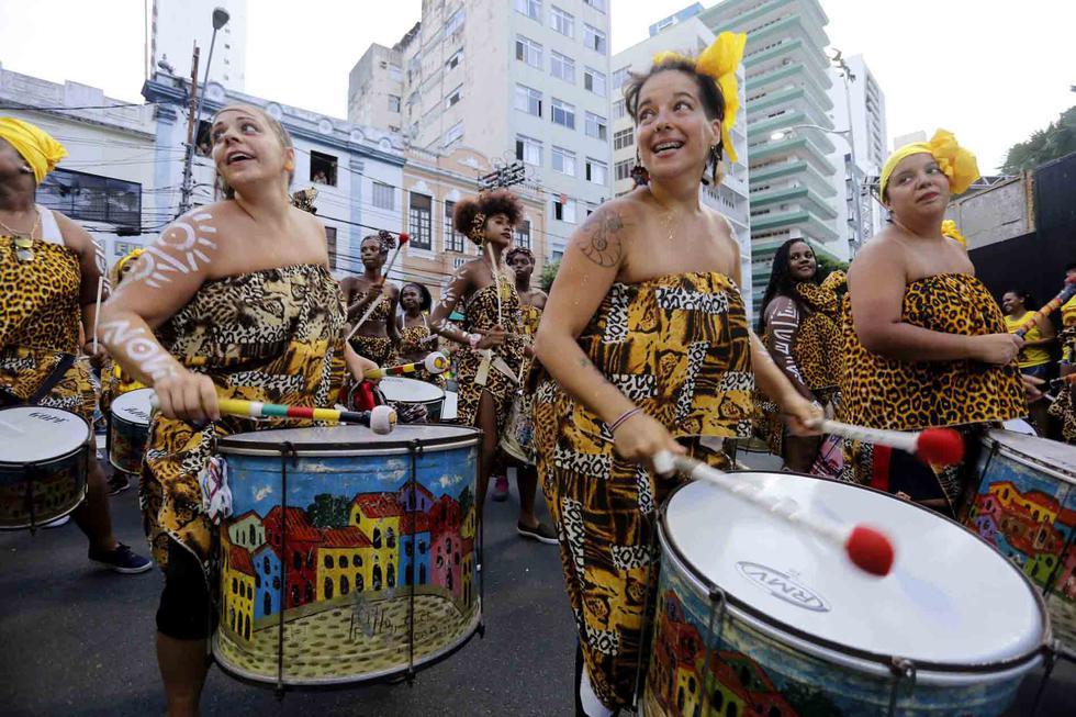 """Salvador. Conocida como la """"Roma Negra"""", la capital de Bahía celebra uno de los carnavales más cotizados de Brasil. El Barrio histórico del Pelourinho es el epicentro de ensayos y shows de pre-carnaval desde fines de enero.(Foto: Difusión)"""