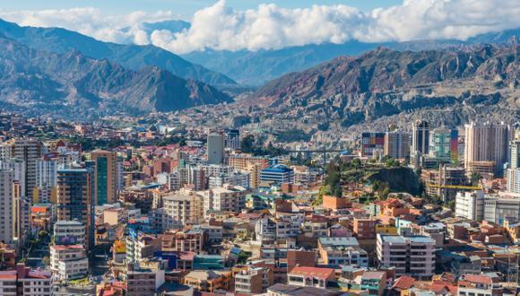 La Paz, ciudad boliviana situada en un rango de 2.400 a 4.000 metros de altitud.(Foto: Shutterstock)
