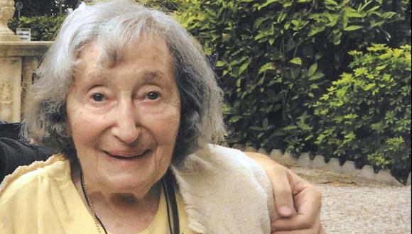 La sobreviviente del Holocausto Mireille Knoll fue brutalmente asesinada en París. (Foto: Difusión)