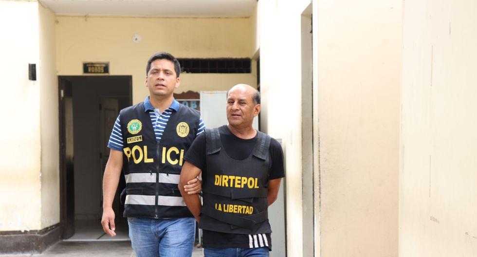 Según la policía, Mendo Zelada es un conocido integrante de la facción de Los Pulpos, una de las más sanguinarias organizaciones criminales que operan en Trujillo. (Foto: PNP)