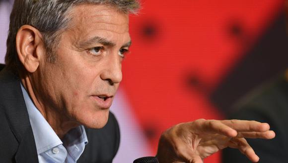 George Clooney escribió un breve poema acerca de la últimas protestas en la NFL. (Foto: Agencias)