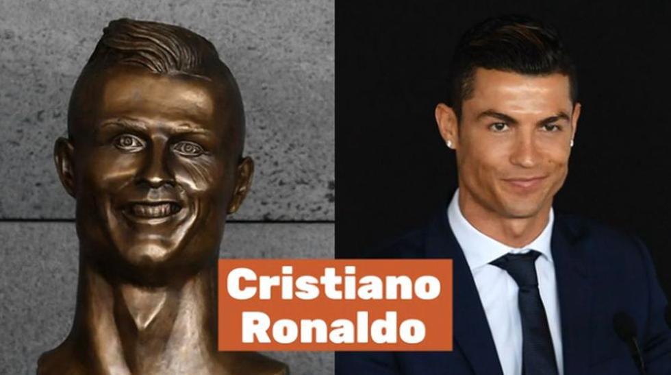 Cristiano Ronaldo y las peores estatuas del deporte mundial - 2