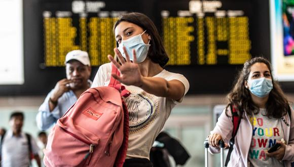 Coronavirus en Perú: Cómo detectar a los contagiados que vienen del extranjero en el aeropuerto, según la OMS. Imagen referencial del aeropuerto Jorge Chávez de Lima. Foto: AFP