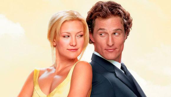 """Kate Hudson reveló como fue besarse con  Matthew McConaughey en la película """"Cómo perder a un hombre en 10 días"""" (Foto: Paramount Pictures)"""